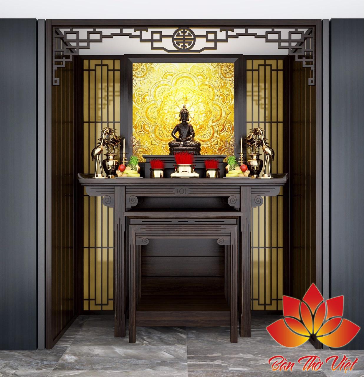 Tranh phong thủy phòng thờ với những chủ đề và họa tiết vô cùng phù hợp treo trong phòng thờ