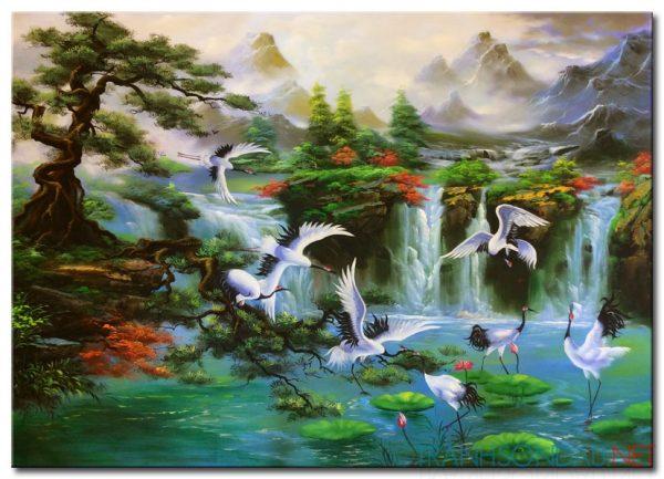 Chiêm ngưỡng những bức tranh treo phòng thờ đẹp nhất.