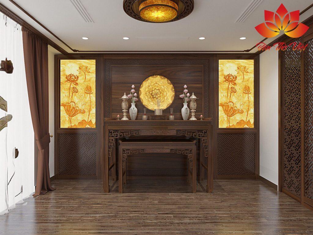 Một số mẫu thiết kế phòng thờ đẹp nhất